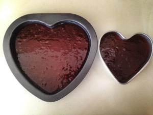 Heart shape tins