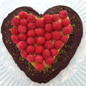 Valentine's Flourless Chocolate IndulgenceCake