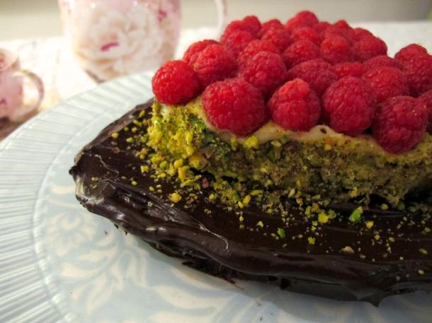 Valentine's chocolate indulgence cake