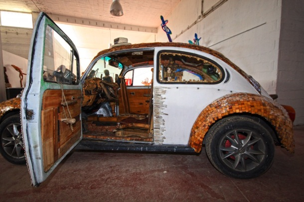 Woody Fox Car by Hussein Nassouri