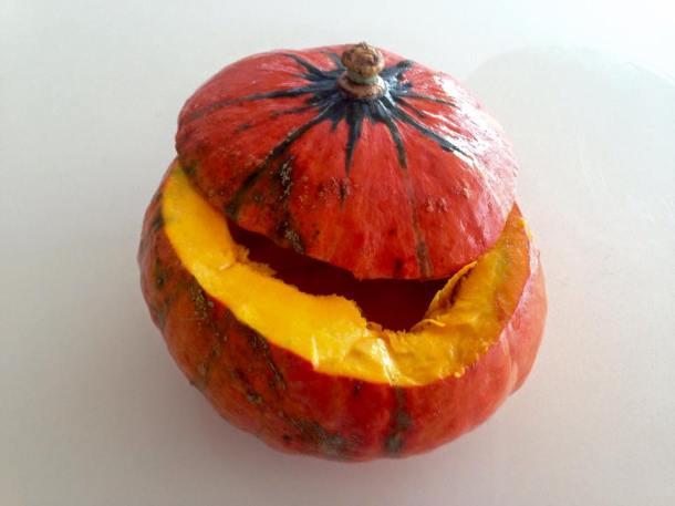Golden nugget pumpkin