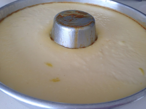 Crème is firm, off the stove and cooling ff.