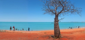 Broome Beach Art