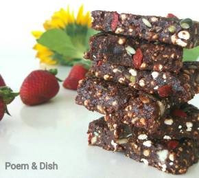 Crunchy Chocolate and Peaunt Butter HealthBars