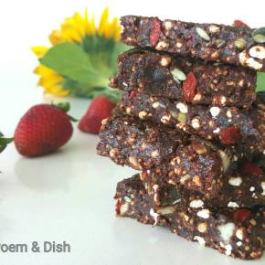 Crunchy Chocolate and Peaunt Butter Health Bars
