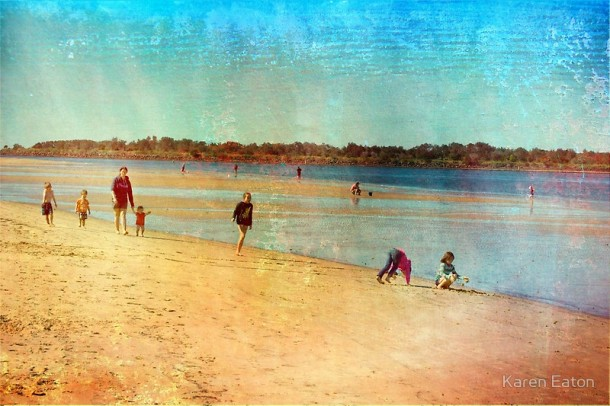 Summer Holiday Richmond River Ballina. www.redbubble.com
